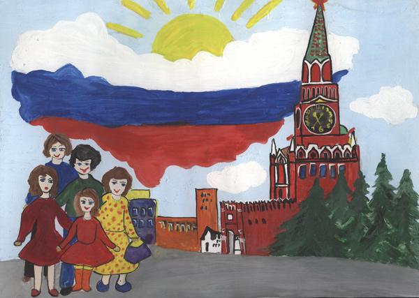 Распопова Анастасия-Кремль